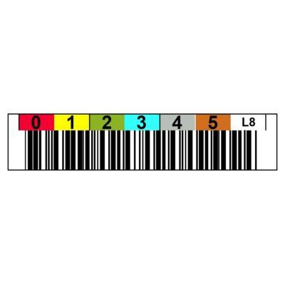 Tri-Optic LTO8 Ultrium Horizontal Label - Sheet of 20