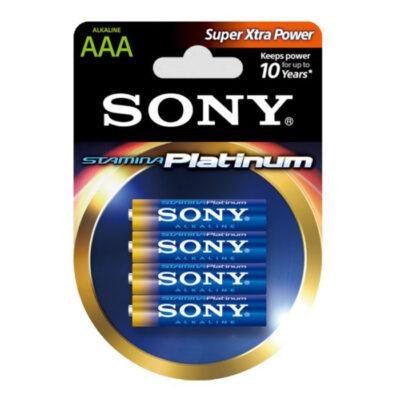 Sony Stamina Platinum Battery AAA - 4 Pack